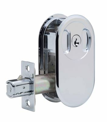 Round Lockable Cavity Door Locks