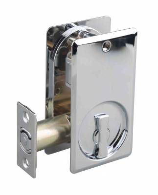 Square Lockable Cavity Door Locks